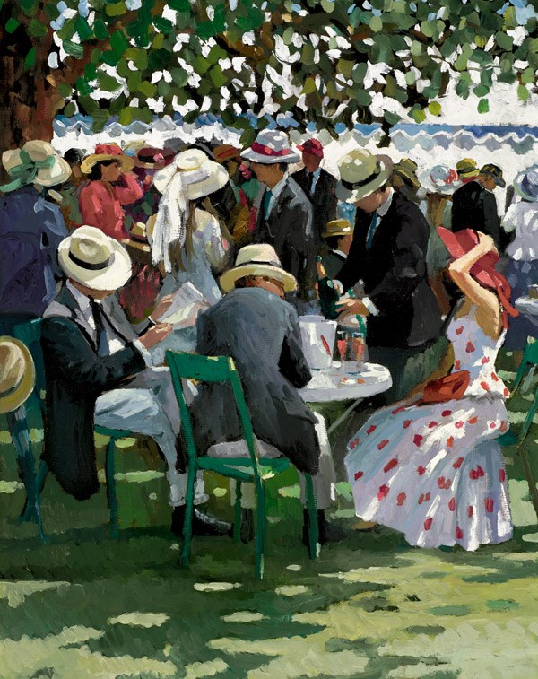 Shared Memories I by Sherree Valentine Daines - Hand Finished Limited Edition on Canvas sized 13x17 inches. Available from Whitewall Galleries